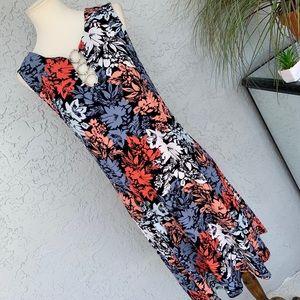 • MSK • Floral Sheath Dress